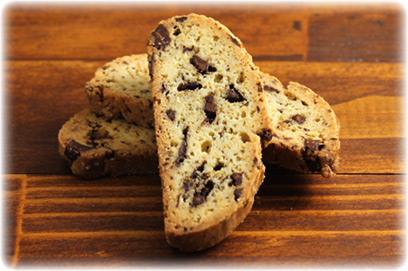 Biscotti con Chocolate