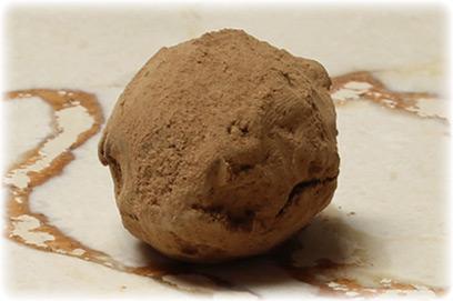 Truffle de cocoa