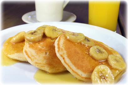 Buttermilk Banana Pancake