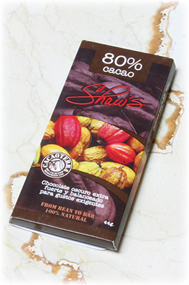 Chocolate oscuro 80% cacao