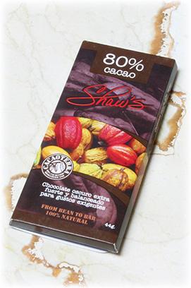 Chocolate oscuro 80% cacao