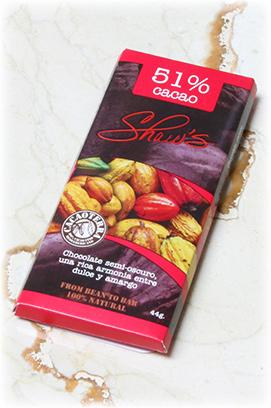 Chocolate oscuro 51% cacao