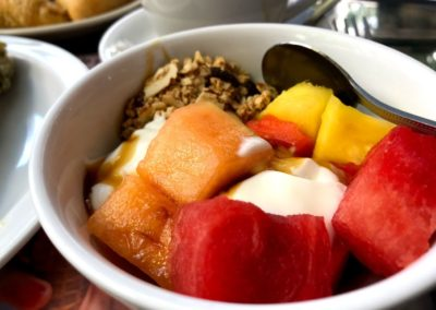 granola fruta