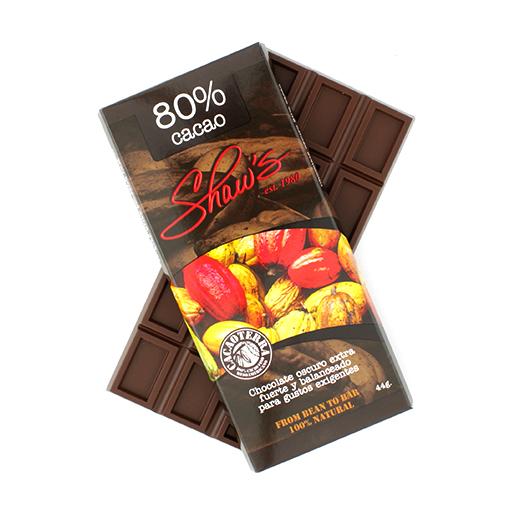 Cacaoterra Chocolate Oscuro 80% cacao