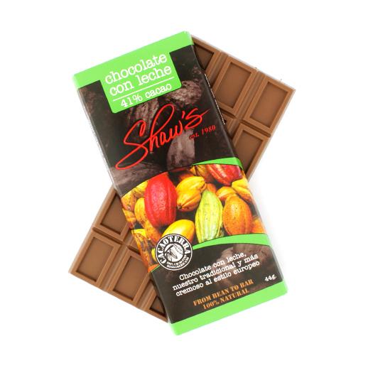 Cacaoterra Chocolate con Leche 41% cacao