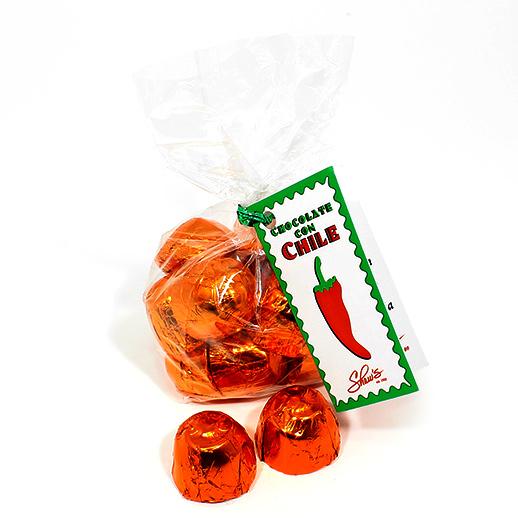 Bombones de Chocolate con Naranja y un toque de Chile