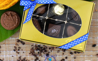 Bombones de chocolate Salvadoreño