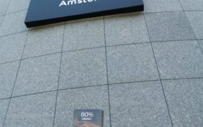 Pulgarcito Viajero en Ámsterdam
