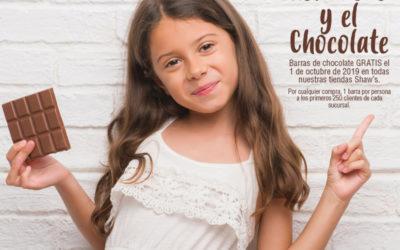 Día Nacional del Cacao y Mundial del Chocolate