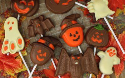 Choco Paletas de Halloween