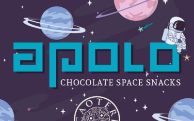 Última noticia desde nuestro laboratorio – Apolo Chocolate Space Snacks!