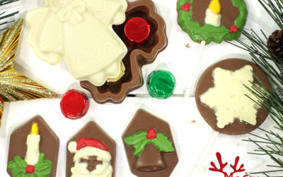 Figuras de chocolate Navideñas