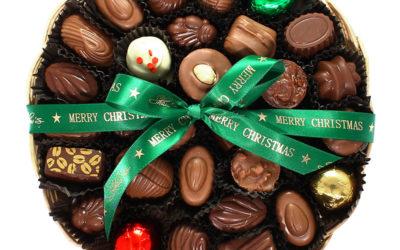 Navidad y Chocolates van de la mano