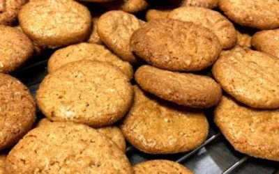 Peanut butter cookies – Wheat free