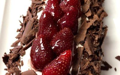 Brazo Gitano de Fresas con Chocolate