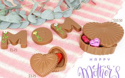 Figuras de Chocolate para Mamá