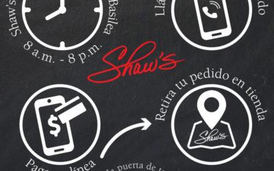Opciones para comprar Shaw's
